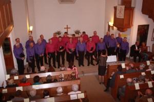 1. Konzert-Auftritt, Evang. Kirche Graupa - Liederkranz allein (IMG_9345)