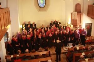 2. Konzert-Auftritt, Evang. Kirche Graupa - Liederkranz & Graupa-Chor (IMG_9366)