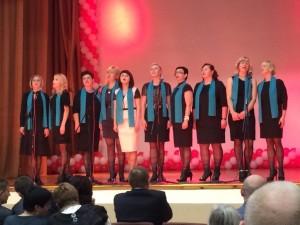 Lehrerchor - Brest ''Schule 20'' (gegründet im Oktober 2014)
