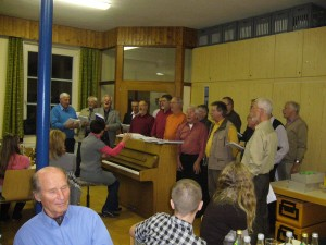 Achtung - hier singt der Männerchor! (P1320641)