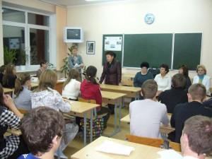 Raissa schwärmt in Schule 20 (P1320485)